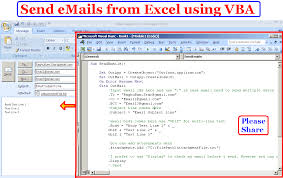 learn to compose and send emails from excel using vba advanced