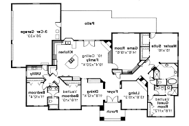 southwest house plans barstow 30 050 associated designs