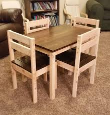 How To Build Dining Room Chairs How To Build A Diy Kids Chair Play Table Plays And Woodworking
