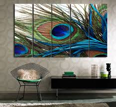 Themed Home Decor 12 Peacock Themed Home Decor My Small Apartment Feather Wall Art
