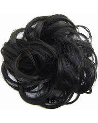 bun scrunchie feshfen wavy hair bun donut hair chignons hairpiece scrunchy