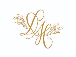 initials monogram monograms ink scribbler