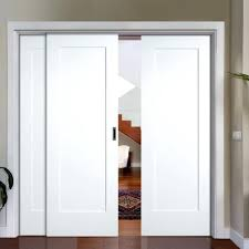 Panel Closet Doors Closet Shutter Style Closet Doors Slide White Shaker Pattern