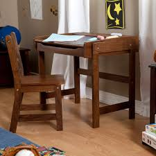 chalkboard storage desk and chair set walnut walmart com