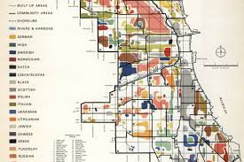 Chicago City Map by Mapping Chicago U0027s Diverse Ethnic Communities In 1950 Curbed Chicago