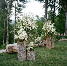Unique Backyard Wedding Ideas by Best 25 Outdoor Wedding Altars Ideas On Pinterest Outdoor