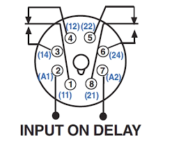 wiring diagram for time delay relay u2013 the wiring diagram