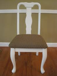 dining room chair redo recovering the seat cushion yikes money