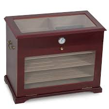 400ct display show case cigar humidor cabinet chest cigarette