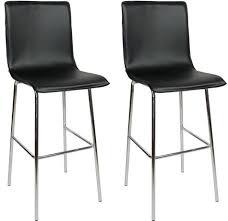 4 legged bar stools fixed height kitchen bar stools wooden chrome satin finish