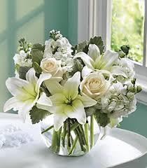 roses and lilies white roses and lilies flower petal send flowers online