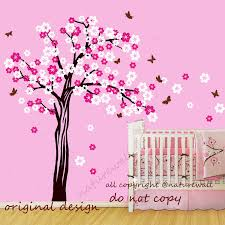Butterfly Wall Decals For Nursery by Wall Stickers Tree Wall Decor Ideas