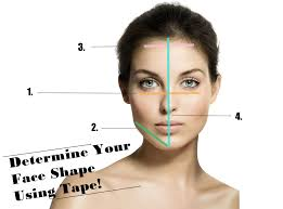 determine your face shape face shapes face and makeup
