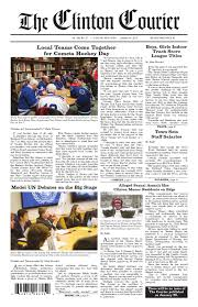 the clinton courier 1 14 15 by the clinton courier issuu