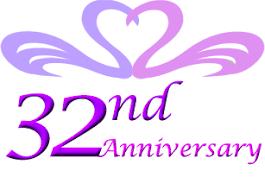 32nd wedding anniversary 32nd wedding anniversary gift ideas 32nd anniversary