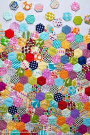 Ideas Design For Colorful Quilts Concept 25 Unique Hexagons Ideas On Pinterest Hexagon Quilt Tumbling
