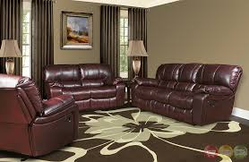 Brown Leather Recliner Sofa Set 20 Leather Power Reclining Sofa Set Carehouse Info