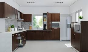 modular kitchen l shape design