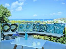 blue hue turquoise throw pillows with a great view trina turk