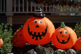 Inflatable Lawn Decorations Inflatable Halloween Yard Decorations