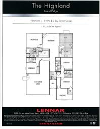 100 lennar next gen home floor plans ranch style house plan