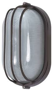 nuvo lighting 1 light cfl 10 oval cage bulk style