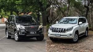 prado 2016 2016 haval h9 vs 2016 toyota land cruiser prado youtube
