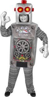 Robot Halloween Costume Robot Halloween Costume Size Standard 44 Paper Magic Http