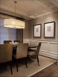 cool dining room decoration using light brown velvet dining chair