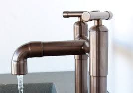 Floor Mounted Faucet Elbow Floor Mount Tub Filler Faucet Artisan Crafted Home