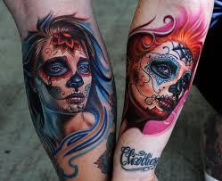 cool idea of santa muerte tattoo for men and girls tattoos book