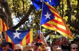 Estelada Flag Catalonia Defies Spanish Government And Makes Independence Vote