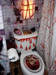 halloween decorations bathroom to scare away your guests