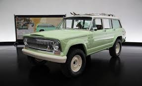 new jeep wagoneer concept jeep debuts wagoneer roadtrip at easter jeep safari news car and