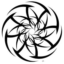 tribal circle stencil tattooshunt com