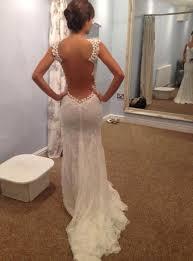 wedding dresses open back 2014 open back lace wedding dresses mermaid
