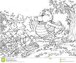 big bad wolf pig stock photography image 14555832