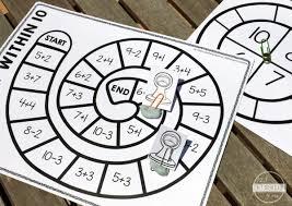 free math games math fluency within 10