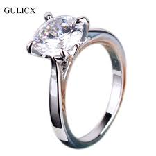 aliexpress buy fashion big size 18k gold plated men fashion wedding rings 2017 genuine white gold color engagement