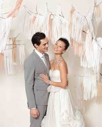quilt wedding backdrop fringed wedding ideas martha stewart weddings