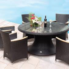 Rattan Patio Dining Set Innovative Wicker Patio Dining Sets House Decor Plan Teak And