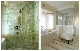 Bathroom Tile Makeover - remodelaholic dramatic bathroom makeover