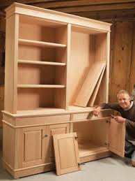 Cabinet Door Plans Woodworking Bookcases Pro Shortcut For Diy Furniture Makers Diy Furniture