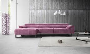 Purple Corner Sofas Italian Modern Leather U0026 Fabric Corner Sofas