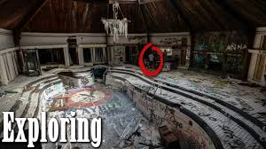 exploring abandoned playboy mansion crazy indoor pool youtube