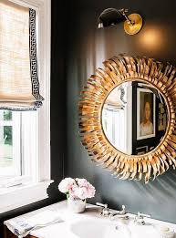 Black And Gold Bathroom Black And Gold Mirror Black And Gold Mirror Living Room Pinterest