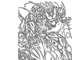 carnage colouring pages free download