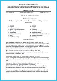 Sample Resume For Purchasing Agent Writing A Concise Auto Technician Resume