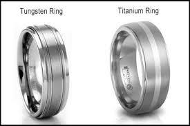titanium tungsten rings images Tungsten vs titanium wedding bands jpg