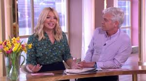 lucy and anna decinque before my bum is out u0027 holly willoughby recounts wardrobe malfunction